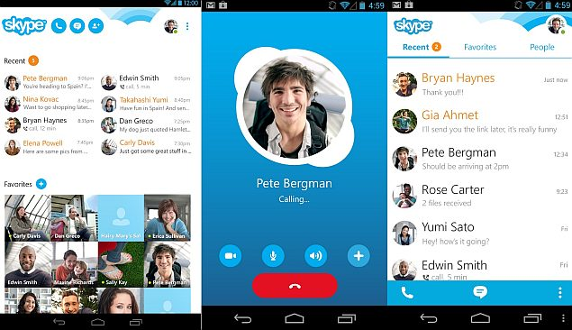 download skype application for android