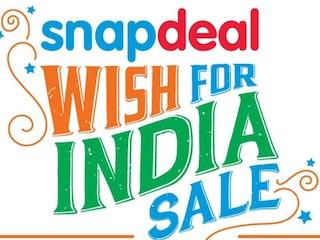 स्नैपडील की 'विश फॉर इंडिया' सेल में मोबाइल समेत कई गैज़ेट पर मिल रही है छूट