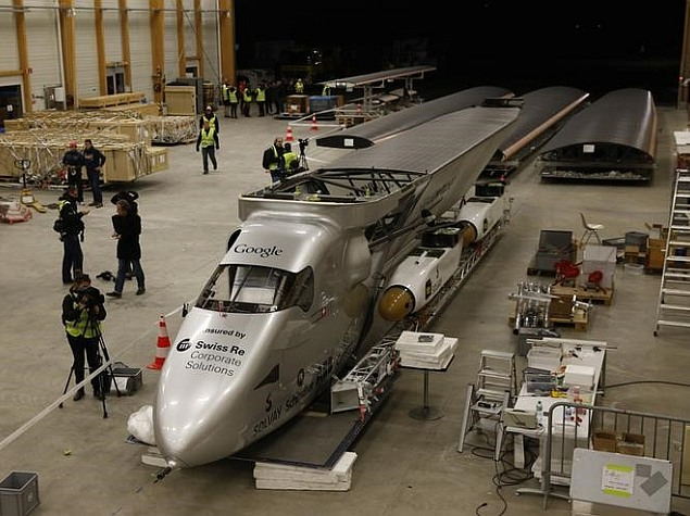 First Round-the-World Solar Flight to Take Off Next Month