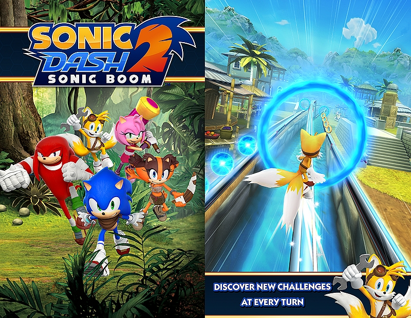 Sega's Sonic Dash 2 Endless Runner Now Available Globally for Android