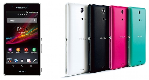 Sony Xperia A waterproof smartphone with quad-core ...
