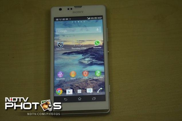 Sony Xperia SP review | NDTV Gadgets360 com