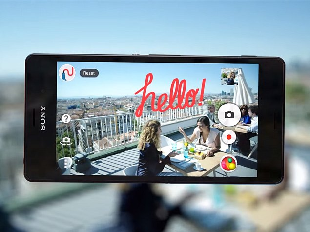 Sony AR Fun Camera App Released on Google Play for Xperia Smartphones