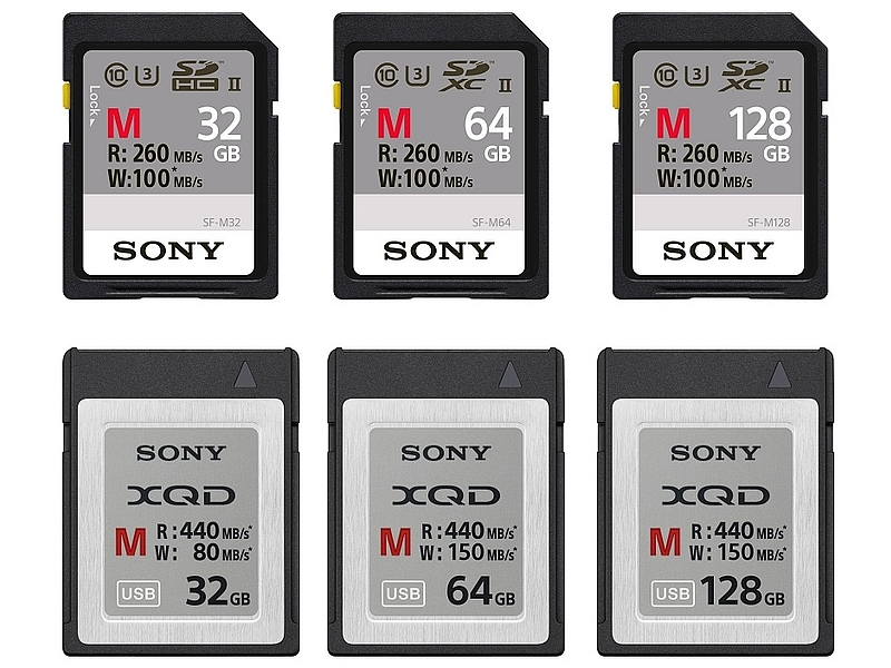 Sony India Launches Range of XQD, SD Storage Cards Starting Rs. 3,500