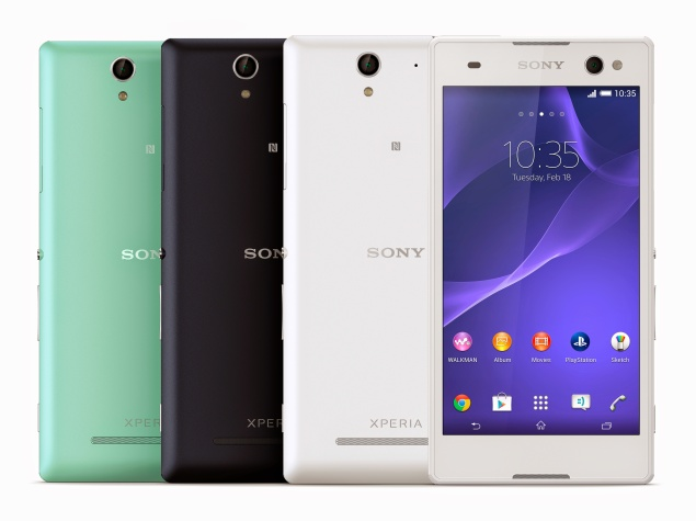 Sony Xperia C3 Dual 'Selfie-Focused' Smartphone Launched at Rs. 23,990