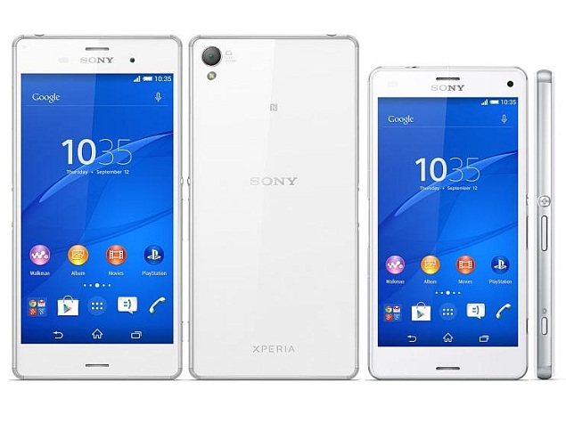 sony xperia z3 price. sony xperia z3 and compact launched in india price