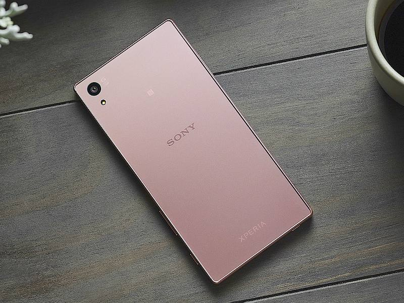 Sony Xperia Z5 Pink Colour Variant Launched