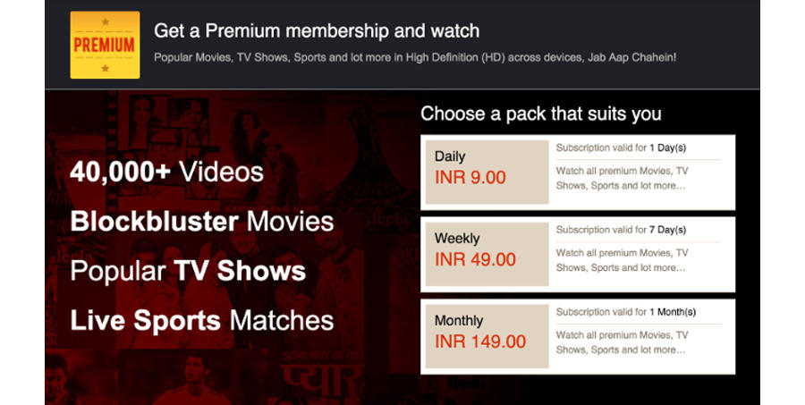 Sony Liv to Add Carrier Billing Support With Fortumo
