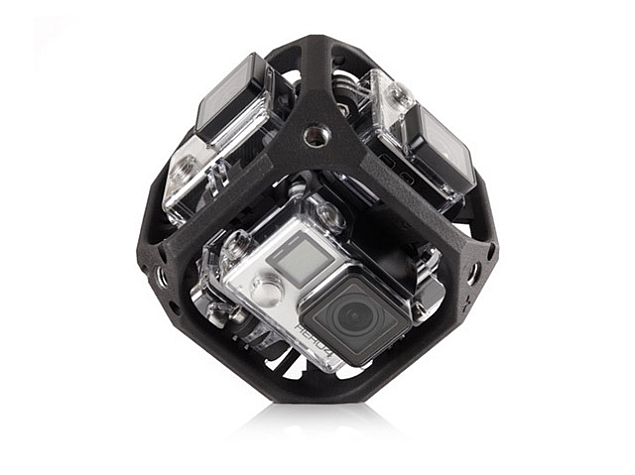 GoPro Announces Quadcopter Drone, Details Spherical Camera Mount for VR
