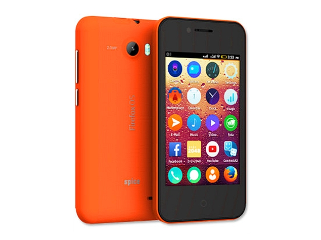 Spice Fire One Mi-FX 2 With Firefox OS 1.4 Launched at Rs. 2,799