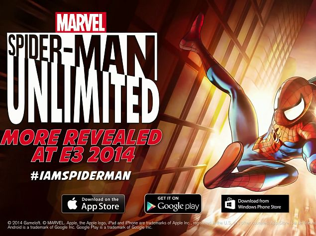 Spider-Man: Unlimited Gets September Release on Android, iOS, Windows Phone