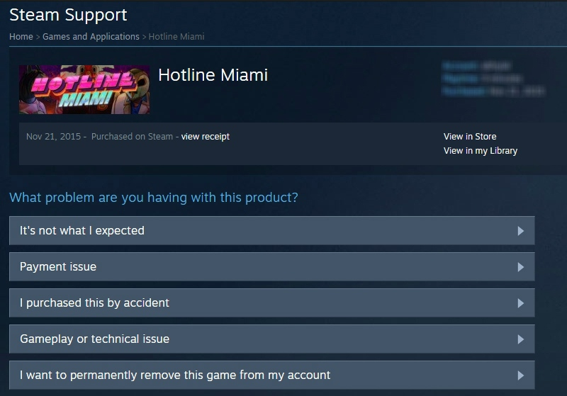 how to delete steam account permanently