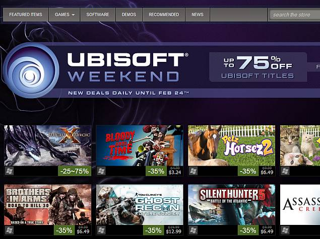 Steam Family Sharing now open to all; developers can create own sales