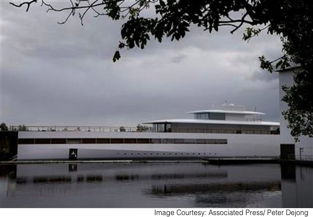 Steve Jobs yacht free to set sail after dispute is settled