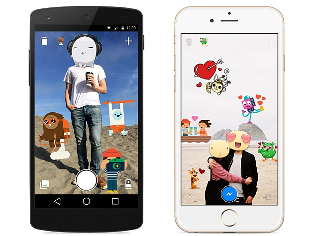 Facebook Launches Stickered for Messenger for Android; iOS App Due Soon