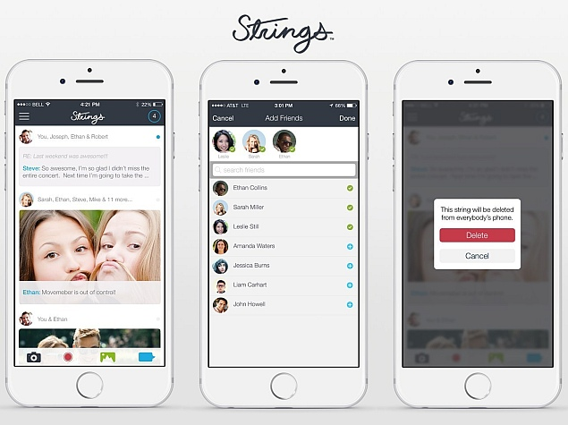 Strings Messaging App Gives Users 'Complete Control Over Conversations'