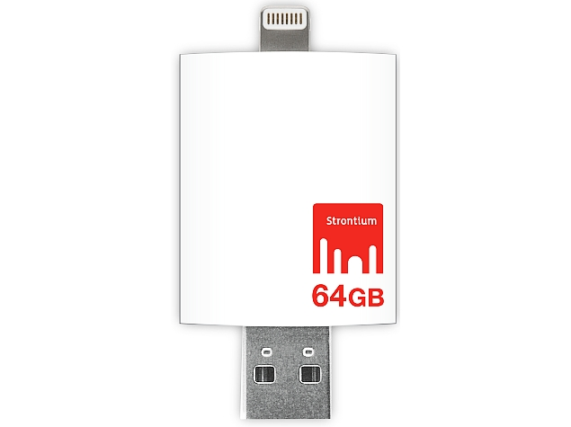 Strontium Launches iDrive 3.0 With Lightning Connector for iOS Devices