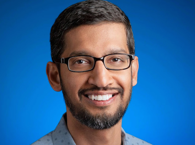 Sundar Pichai Put in Charge of Google's Major Products and Services