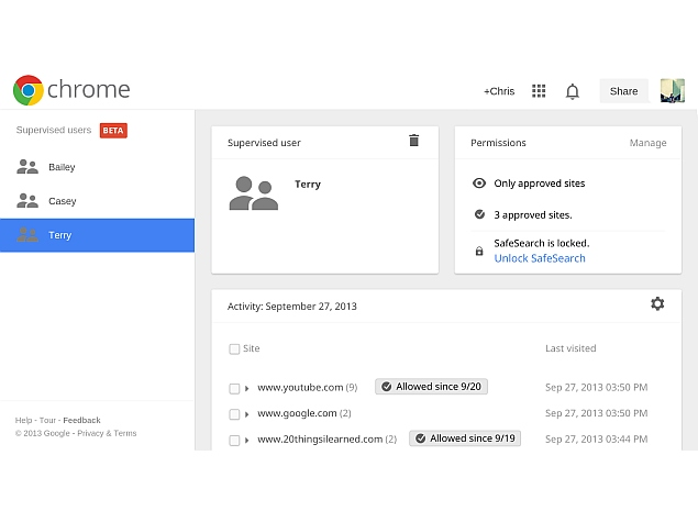 how to go back home in google chrome