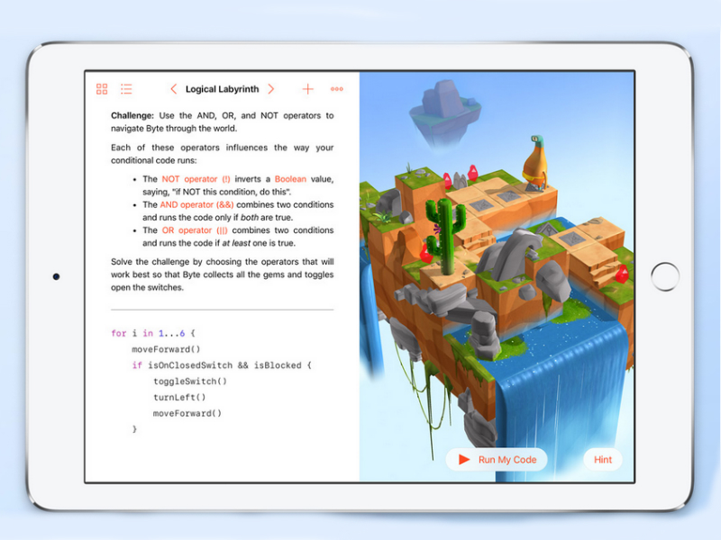 Apple Unveils Swift Playgrounds App to Help Kids Learn to Code