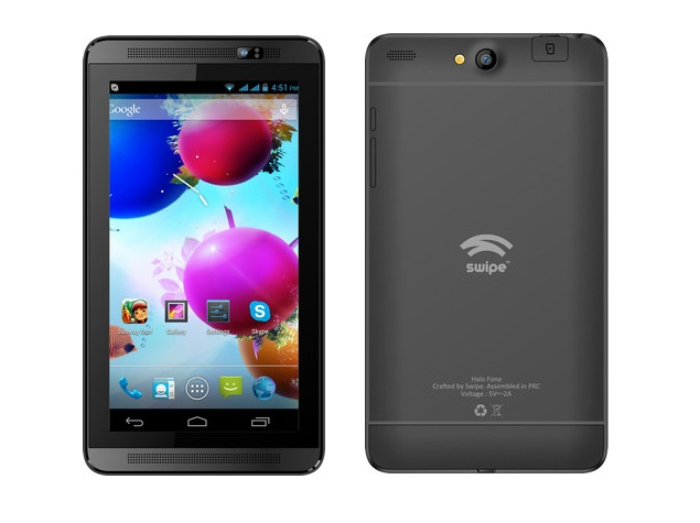 Swipe Halo Fone with 3G support, 6.5-inch display launched at Rs. 6,999