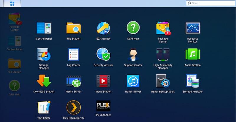Synology DiskStation DS716+II desktop