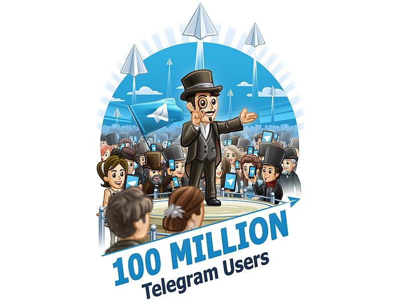 Telegram Hits 100 Million Monthly Active Users; Updates App