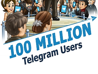 Telegram Hits 100 Million Monthly Active Users; Updates App