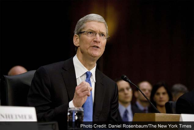 Cook's testimony at Senate hearing helps Apple defuse some tax tensions