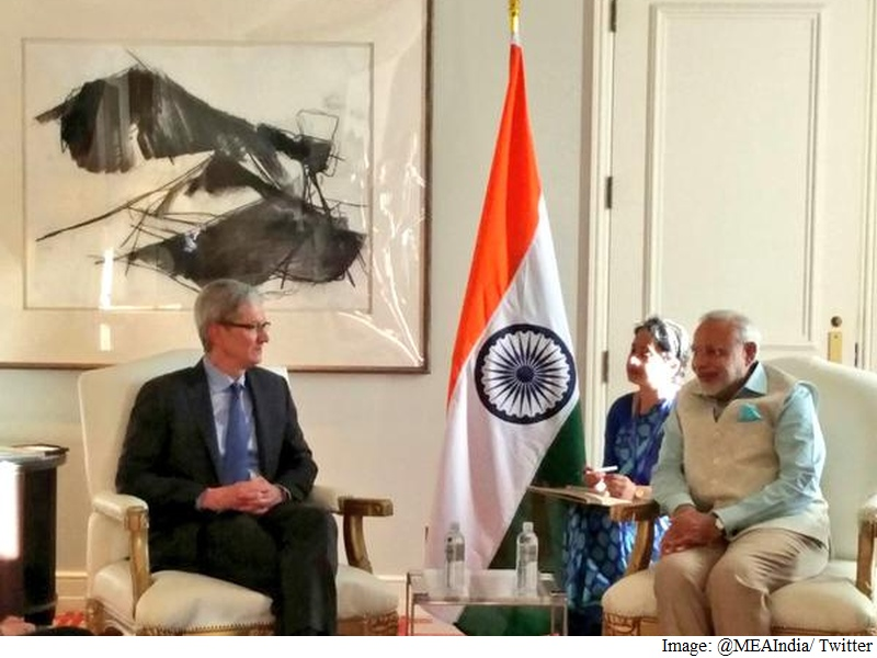 Steve Jobs Went to India for Inspiration, Apple CEO Tim Cook Tells PM Modi