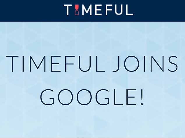 Google Acquires Timeful Calendar iOS App for an Undisclosed Amount