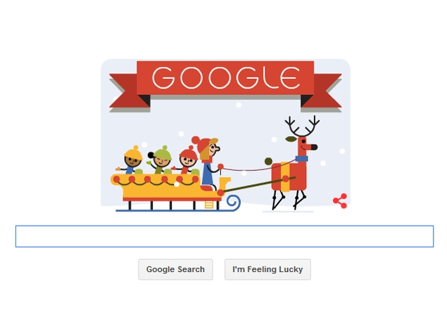 'Tis the Season! Says Google in First Holidays 2014 Doodle