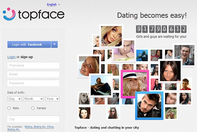Dating site data