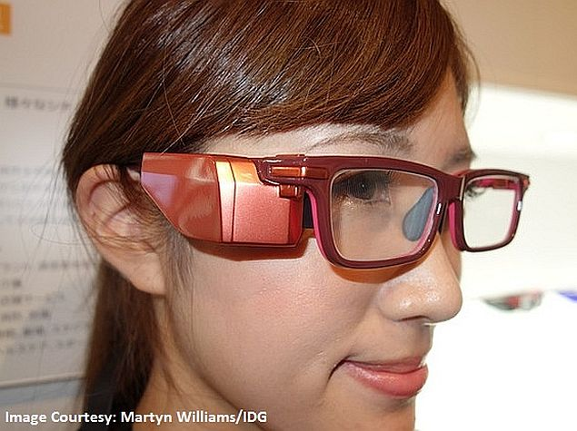 Toshiba Glass Prototype Unveiled Hoped To Rival Google