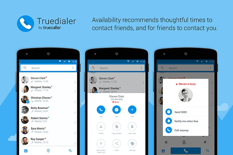 Truedialer App Update Brings New Availability Status Feature