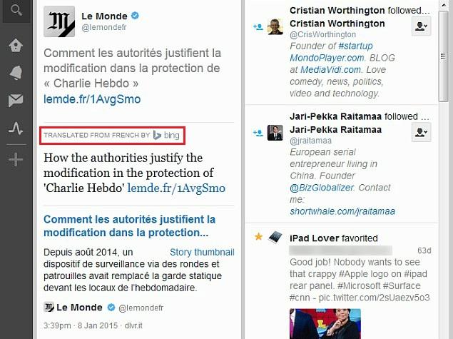 Twitter Brings Back Bing Translation for Tweets in TweetDeck