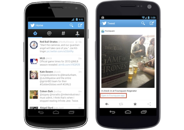 Twitter updates iOS, Android and mobile web apps, brings app