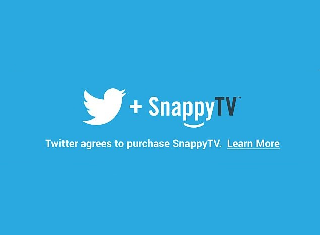 Twitter Acquires SnappyTV Video Editing and Sharing Service