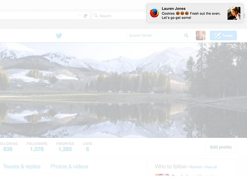 Twitter Unveils Desktop Notifications for Direct Messages
