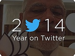 India's 2014 Year on Twitter Charts Topped by Prime Minister Narendra Modi