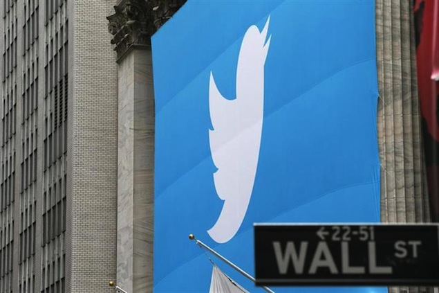 Twitter shines on NYSE debut, stock closes 73 percent up on opening day