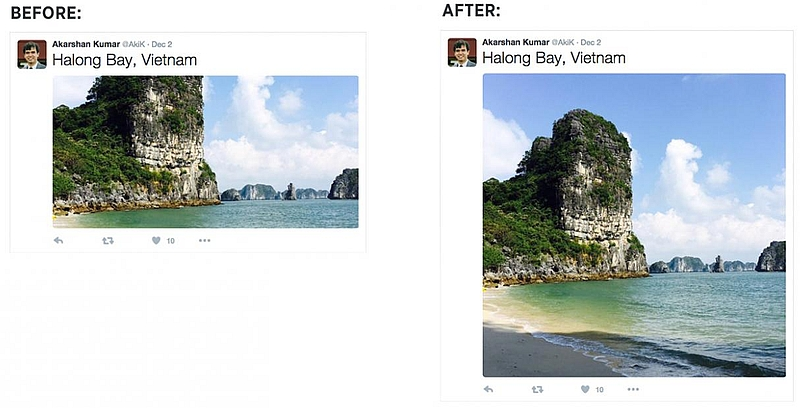 Twitter No Longer Crops Images on Your Timeline