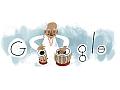 Google doodle marks Ustad Alla Rakha's 95th birthday