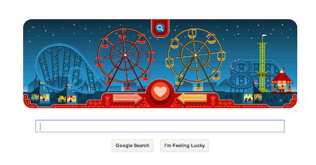 Valentine's Day Google doodle depicts many shades of love and life