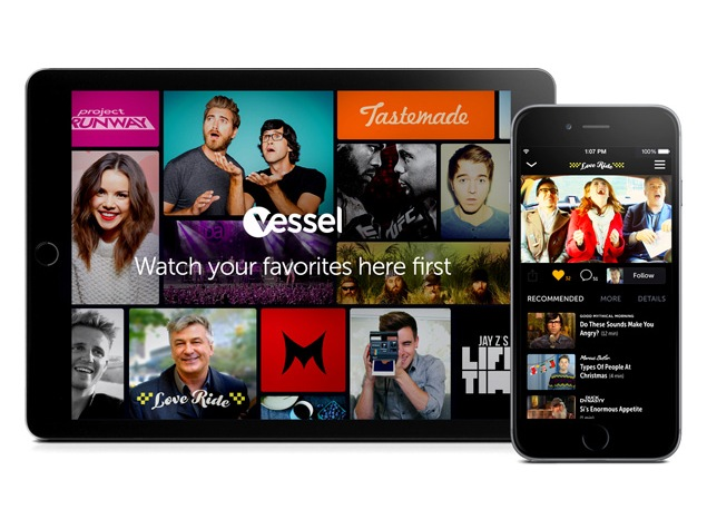 Vessel Video Streaming Service Launched, Bets Fans Will Pay for Early Access