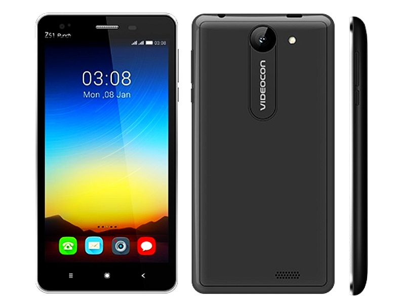 Videocon Infinium Z51Q Star and Infinium Z51 Punch Smartphones Launched