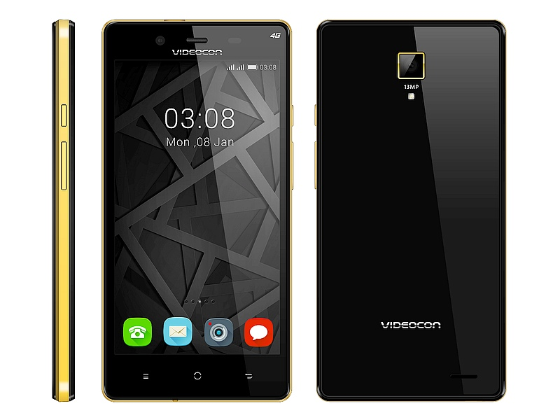 Videocon Z55 Krypton With 13-Megapixel Camera Launched at Rs. 7,999