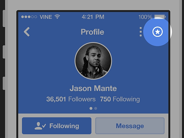 Vine's New 'Favourite' Button Lets Users Keep Track of Popular Artists