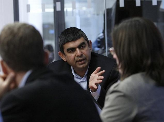 Infosys Names Vishal Sikka First External CEO; Chairman Murthy to Step Down