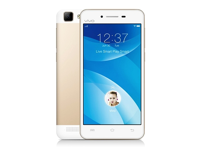 Vivo V1 With 13-Megapixel Camera, Android 5.0 Lollipop Launched in India